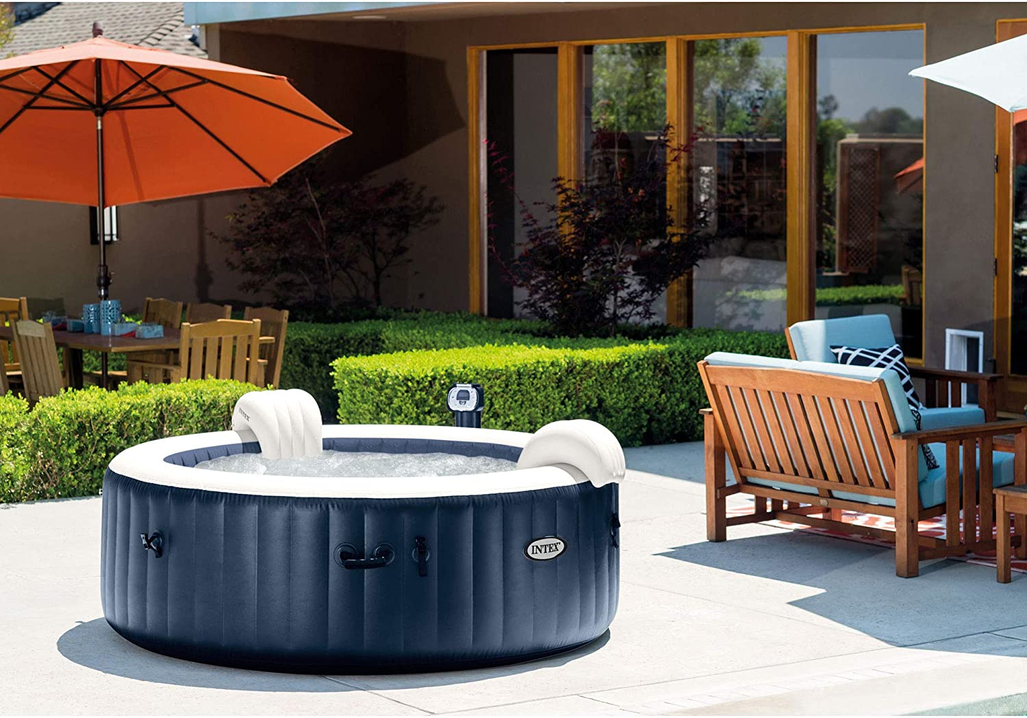 Blow up Hot Tub